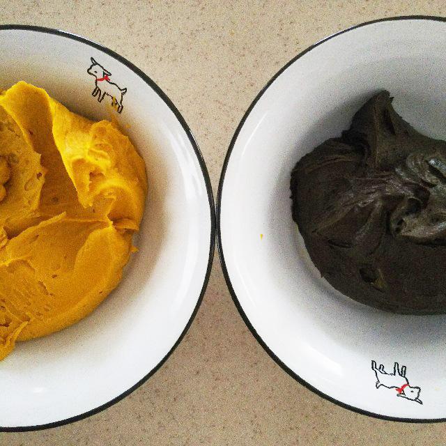 ラップをして常温で保存するクリーム