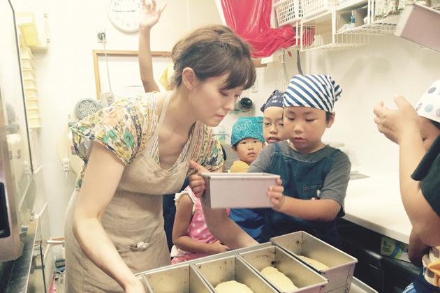 子供向けパン教室