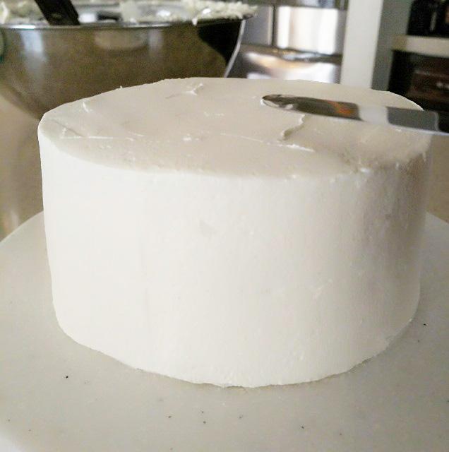 デコレーションケーキのナッペ