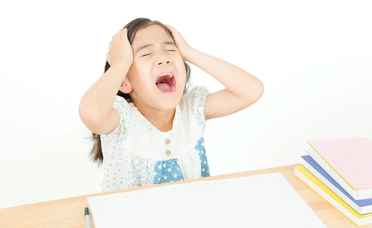 情緒不安定な子どものイメージ